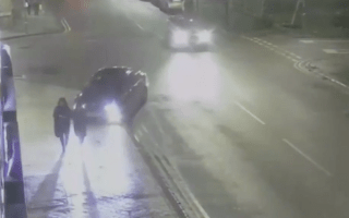 CCTV captures shocking hit-and-run in Birmingham