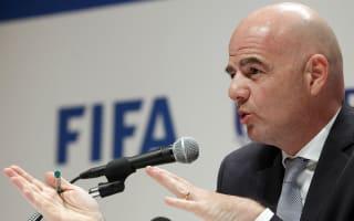 Infantino hits out at 'fake news' and 'FIFA bashing'