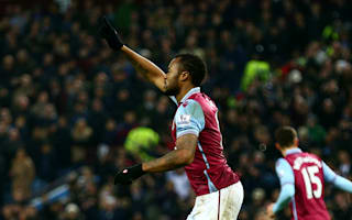 Aston Villa 1 West Ham 1: Ayew cancels out Cresswell opener