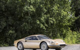 Gorgeous 1971 Ferrari Dino could fetch £200k at auction
