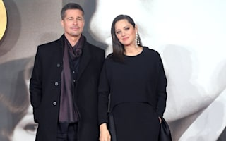 Brad Pitt and Marion Cotillard step out in London for Allied premiere