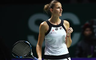 Pliskova could feel 'nervous' Muguruza