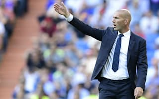 Zidane urges Real not to 'go crazy' amid barren run