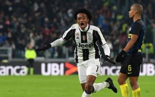 Juventus 1 Inter 0: Cuadrado stunner ends visitors' fine run
