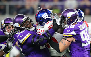 Vikings frustrate Manning, Beckham to stay undefeated