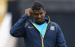 Sri Lanka captain Mathews out due to 'multiple leg injuries'