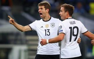 Germany 3 Czech Republic 0: Muller bags brace as world champions show class