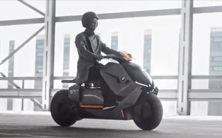BMW unveils its all-electric motorbike concept