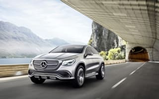 Mercedes unveils stylish Concept Coupe SUV