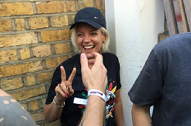 Lily Allen responds to claims that she was 'binge-drinking'