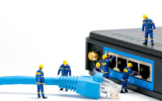 We're so reliant on broadband that we're stuck with our provider