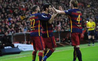 Barca must keep pushing - Vidal