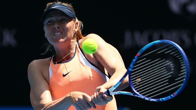 Maria Sharapova to learn about French Open week of May 15