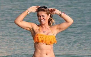 Danniella Westbrook enjoys beach holiday in Dubai (photos)