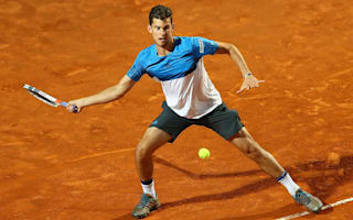 Reigning Nice champion Thiem marches on