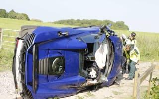 McLaren employee impaled on wooden fencepost after crashing 650S