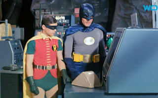 Adam West to sell Batman-themed paintings he created