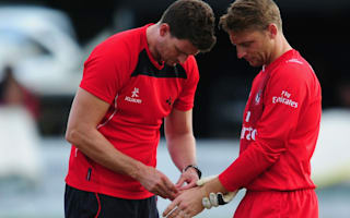 England's Buttler fractures left thumb