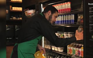 Starbucks are donating their leftover food to charity
