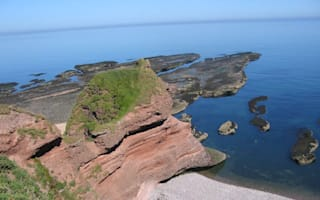 Search for man fallen from cliffs in Scotland