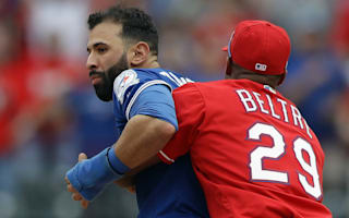 Bautista hits out at 'cowardly' Rangers following melee