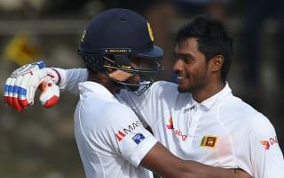 Lyon hails Sri Lanka pair after innings-saving partnership
