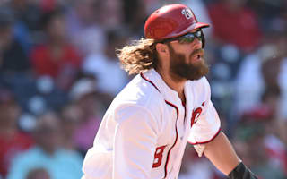 Nationals earn split against Indians, Blue Jays beat Rays