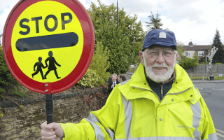 OAP lollipop man suffers punctured lung in road-rage attack