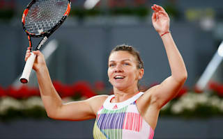 Halep recovers from poor start in Bucharest
