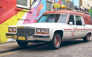 Driving the Ecto-1 around London is a Ghostbusters nerd's dream