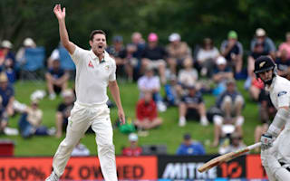 Hazlewood fined after admitting dissent in New Zealand Test