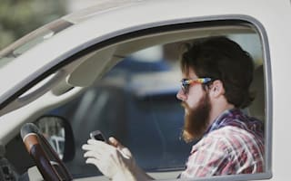Motorists caught shaving and applying make-up behind the wheel
