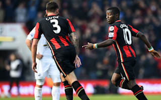 AFC Bournemouth 3 Swansea City 2: Late Cook header seals important win