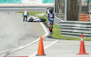 Soft tyre withdrawn following high-speed Baz crash
