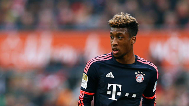 Bayern winger Kingsley Coman out until end of the year