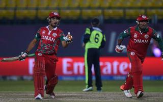 Oman stun Ireland in World Twenty20