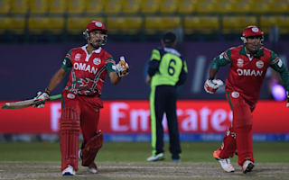 Oman stun Ireland in World Twenty20