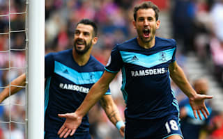 Sunderland 1 Middlesbrough 2: Stuani at the double as Moyes' injury woes increase