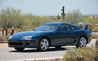 Completely stock Toyota Supra heads to auction in US