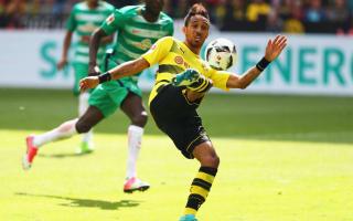 Borussia Dortmund 4 Werder Bremen 3: Aubameyang winner clinches third spot