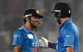 Kohli hails 'greats' Yuvraj and Dhoni for saving India innings