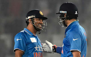Kohli hails 'greats' Yuvraj and Dhoni for saving India innings