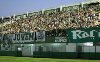 Chapecoense pay tribute to 'eternal champions'