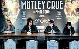 Motley Crue to split - and a contract shows they mean it