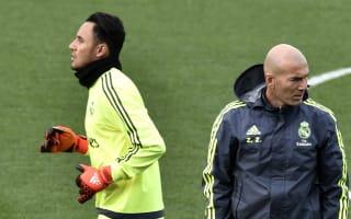 Zidane can achieve big things at Real Madrid - Navas