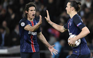 Cavani: No pressure replacing Ibrahimovic