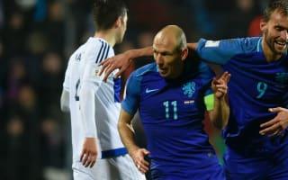 Robben hopeful after injury scare