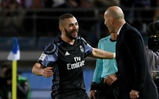 Zidane 'like a brother' to Benzema