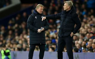 Koeman lays into 'lucky' Everton's second-half display
