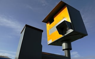 Vandals set fire to prolific speed camera